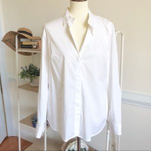 J. Crew the favorite white button down shirt NWT
